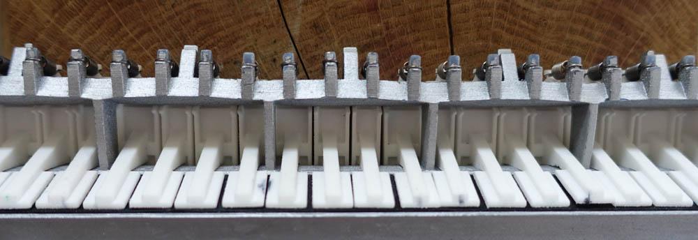 warped melodica skeleton