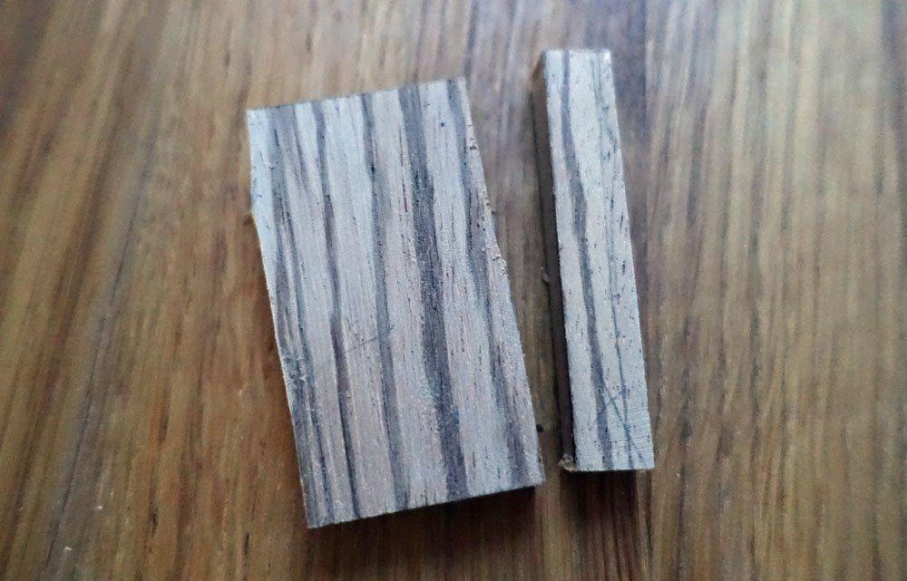 zebrawood block