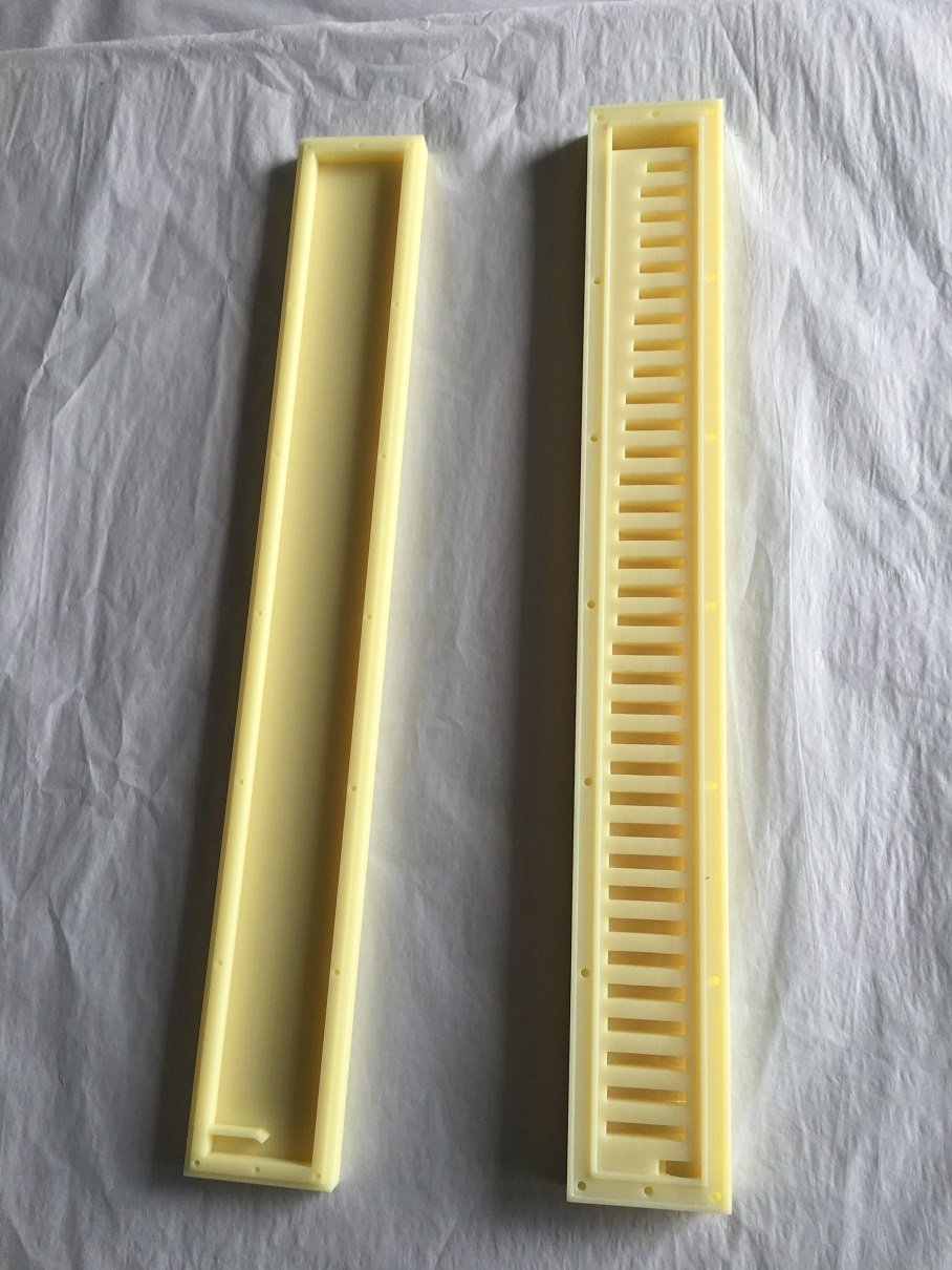 melodica reed chamber CNC