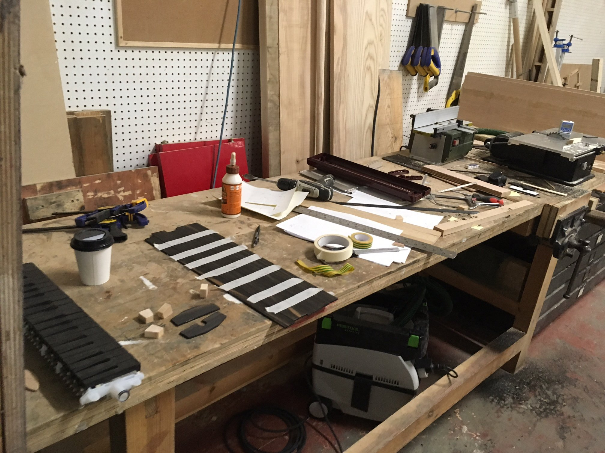 making a wooden melodica case