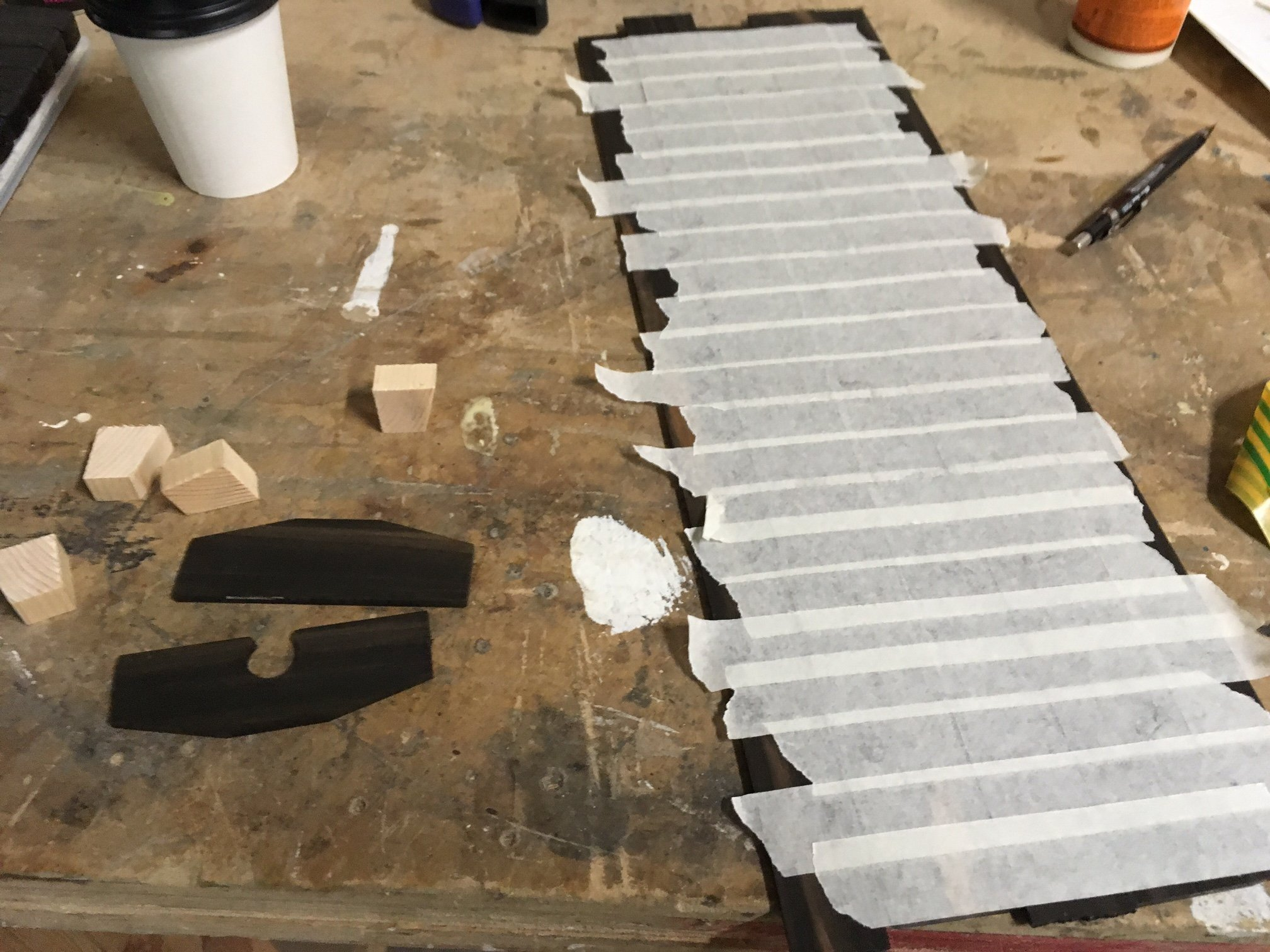 melodica panels completely taped