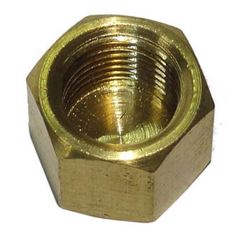 brass screw on cap