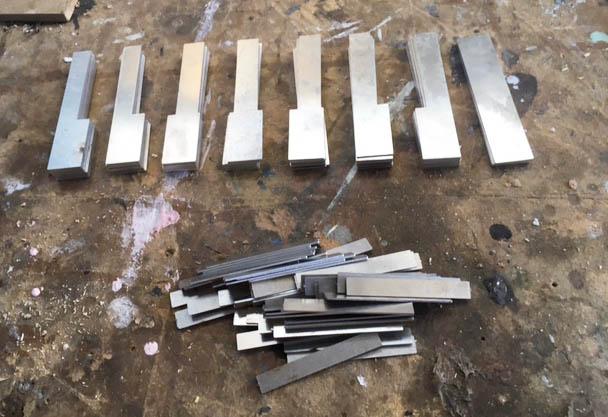 aluminium metal melodica keys