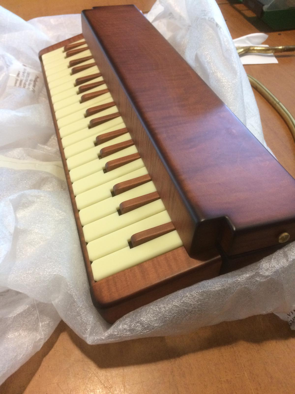 New wooden melodica