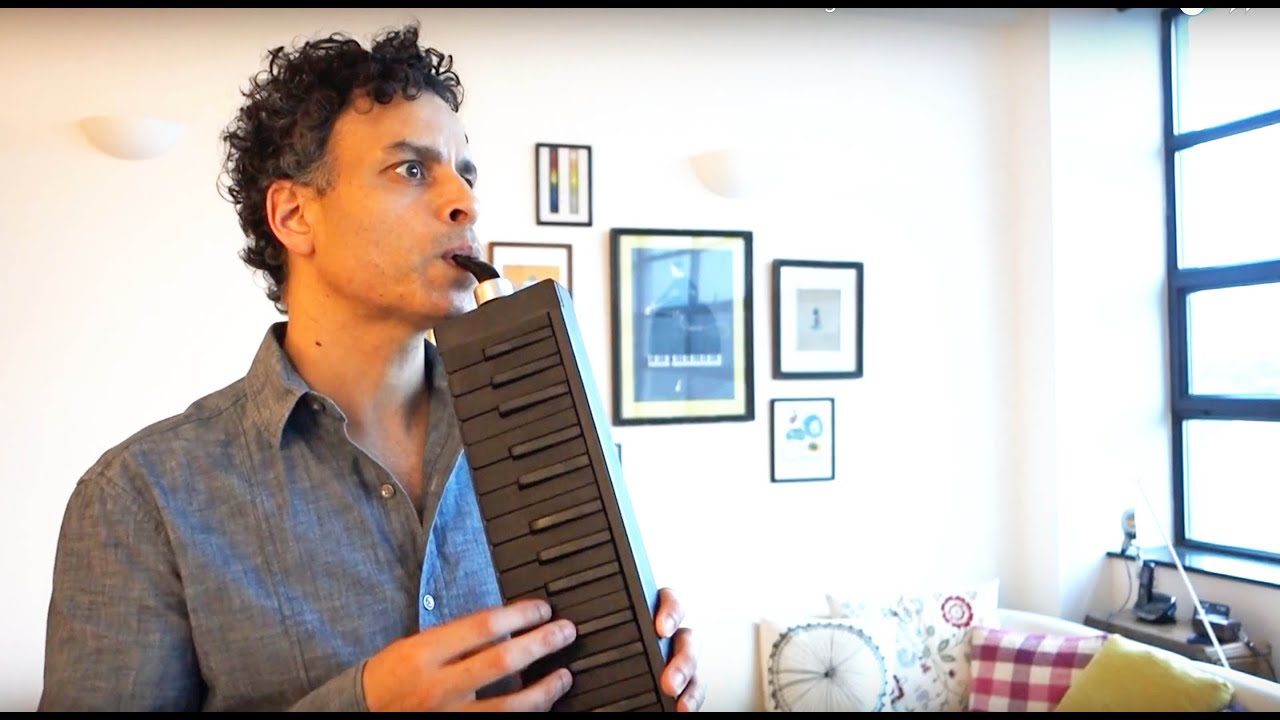 Photo of Bach Cello Suite 1 on Wooden Melodica – circular breathing