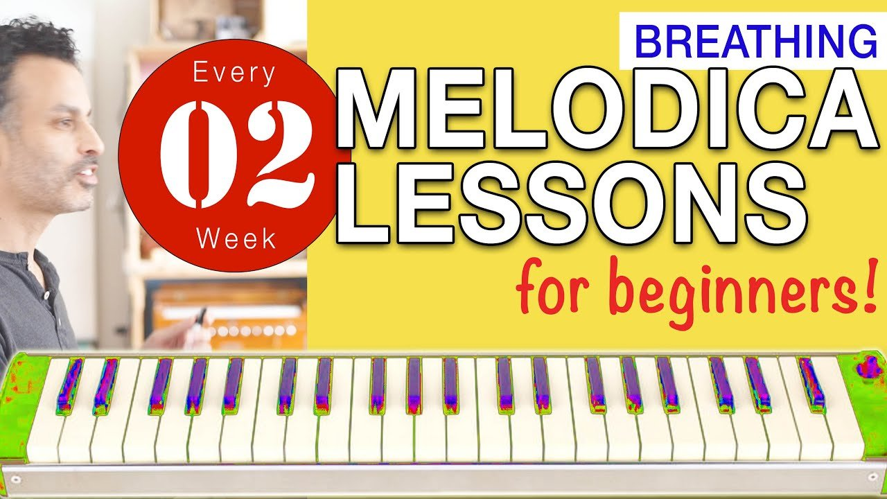 Photo of Melodica Lessons for Beginners [02] 'Breathing'