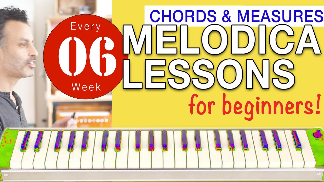 Photo of Melodica Lessons  for Beginners [6] 'Chords and Measures'
