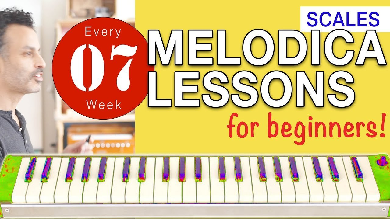Photo of Melodica Lessons for Beginners [07] 'Scales'