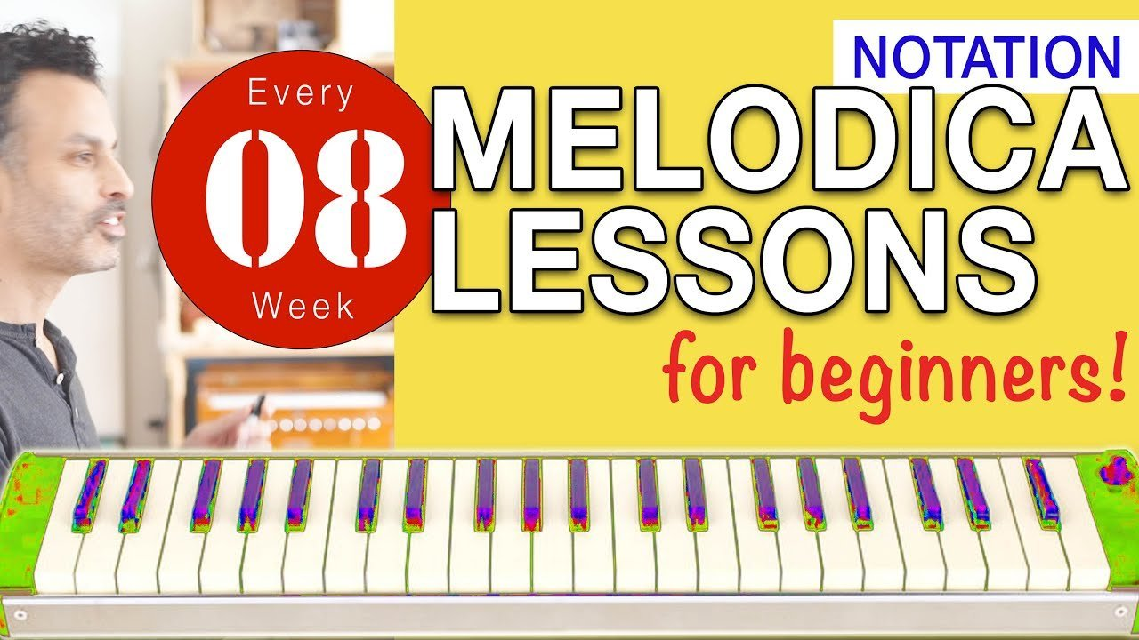 Photo of Melodica Lessons for Beginners [8] 'Notation'