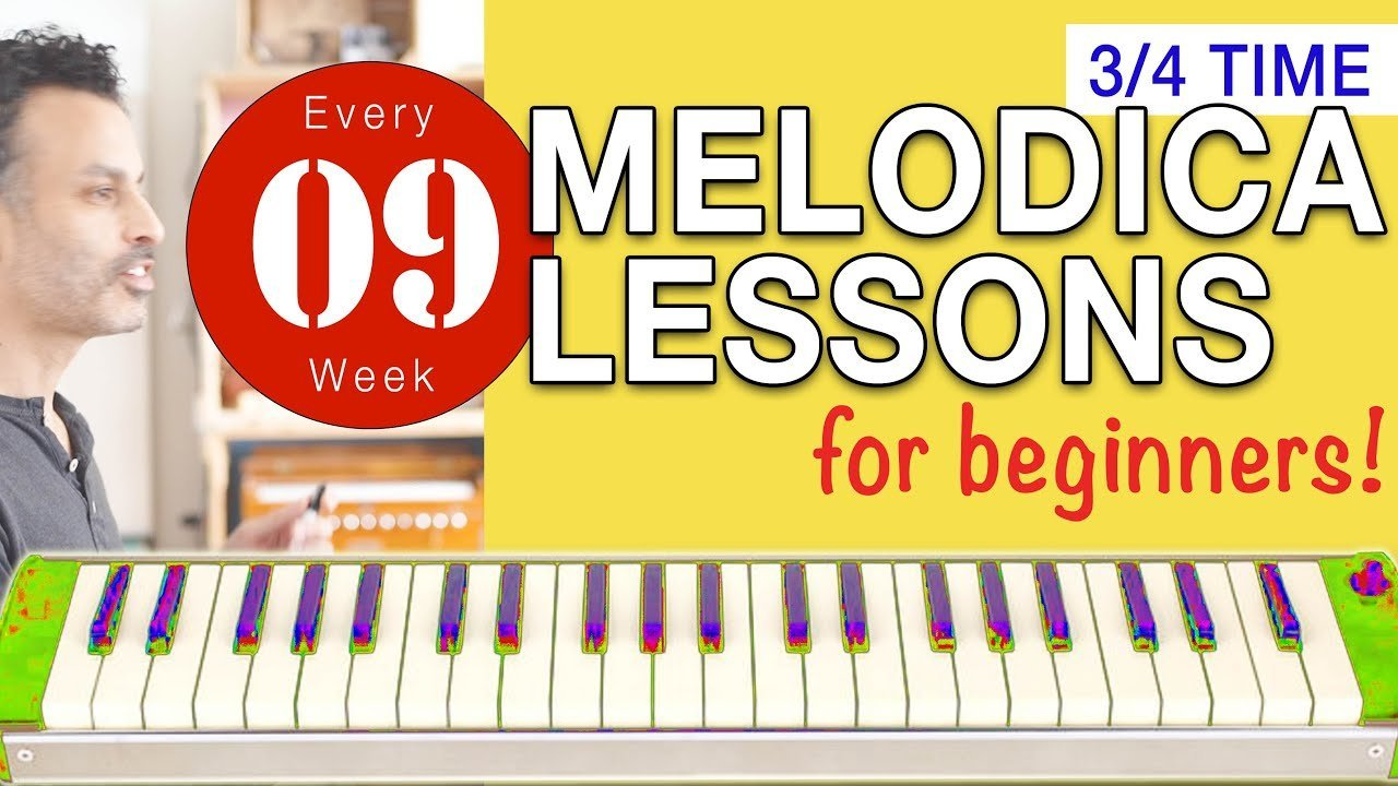 Photo of Melodica Lessons for Beginners [09] '3/4 Time Signature'