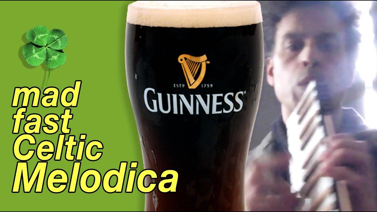 Photo of Playing Irish music on a MELODICA piano!